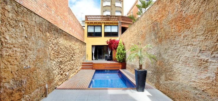 costa+dos Minimalist style garden