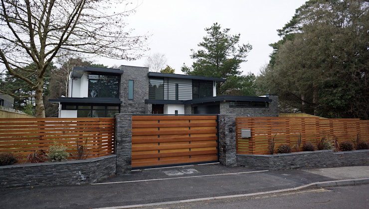 Nairn Road, Canford Cliffs David James Architects & Partners Ltd Casas modernas