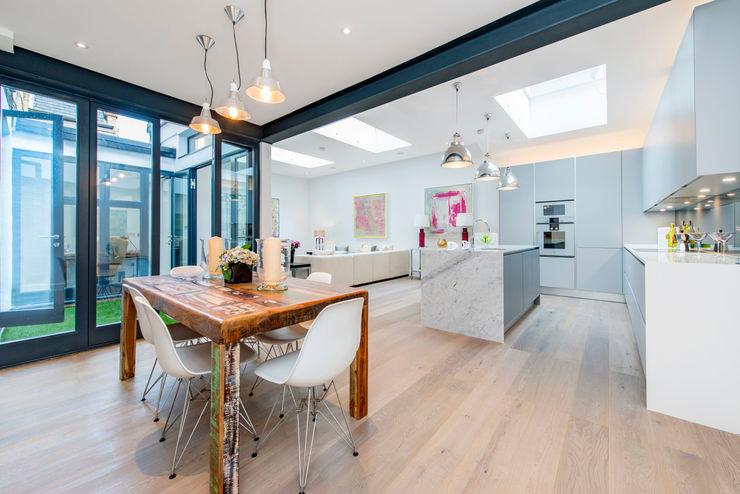 Basement Flat Refurb Balance Property Ltd Living room