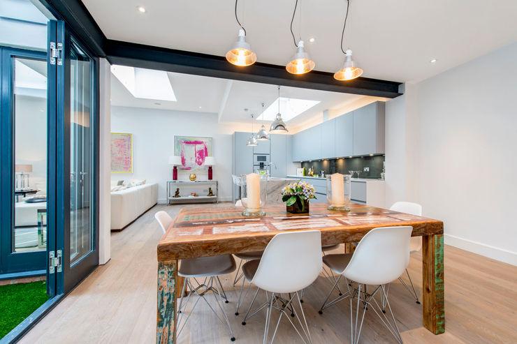 Open Plan living Balance Property Ltd Modern dining room