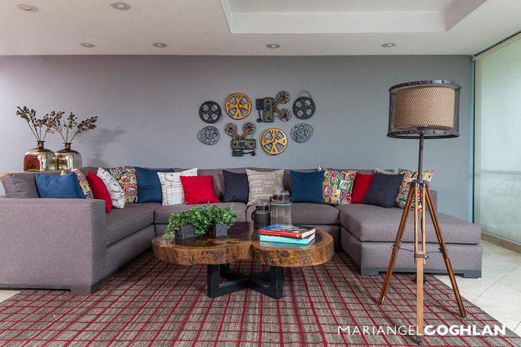 MARIANGEL COGHLAN Moderne Wohnzimmer
