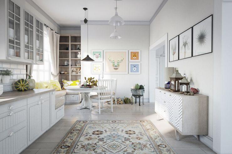 NK design studio Living room