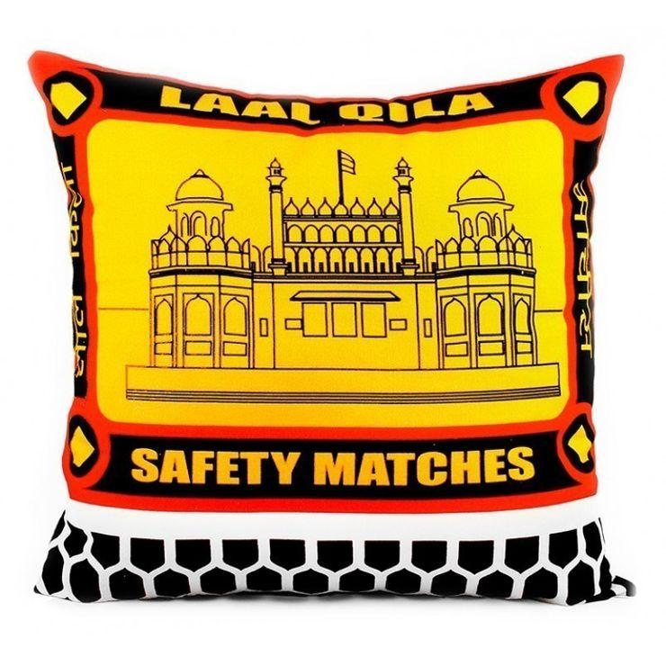 Match Box LQ Cushion Cover ashajodathekal Living roomAccessories & decoration