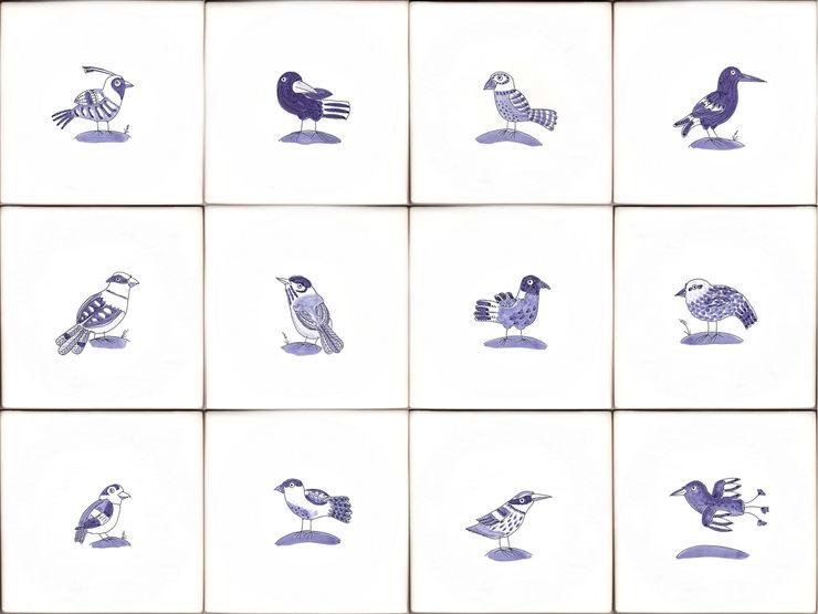 Bluebird tiles Reptile tiles & ceramics Walls & flooringTiles