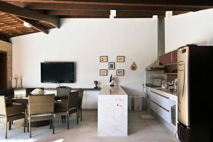Argollo & Martins | Arquitetos Associados Piscine tropicale