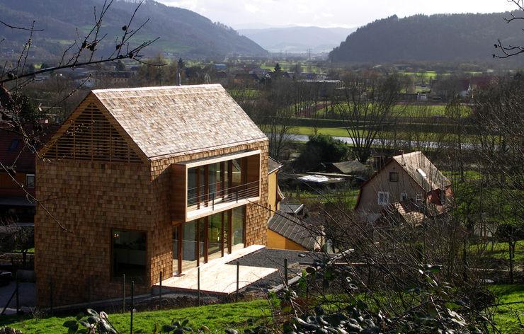 lehmann_holz_bauten Rumah Modern