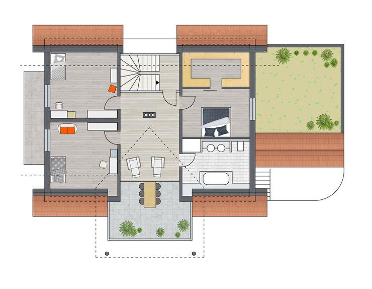 Dachgeschoss Achtergarde + Welzel Architektur + Interior Design