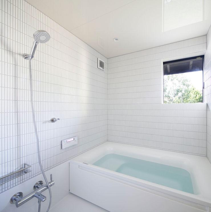 風呂 山田伸彦建築設計事務所 モダンスタイルの お風呂