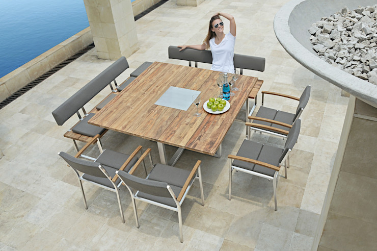 Tisch Quadux ZEBRA GartenMöbel