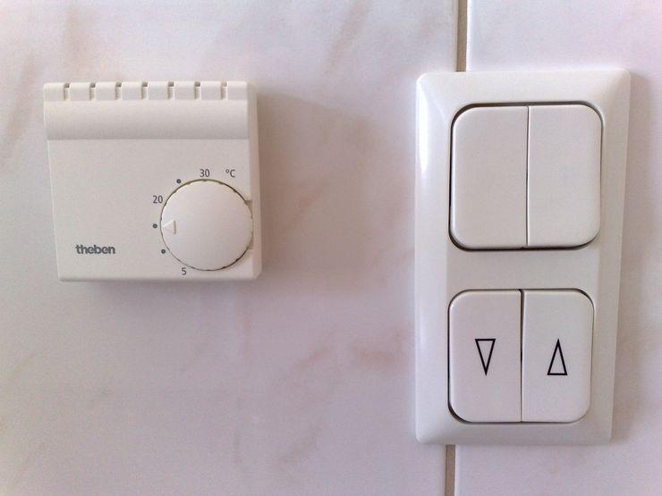 Hausautomatisierung - Smart Home Mihm Thermohaus Moderne Wände & Böden