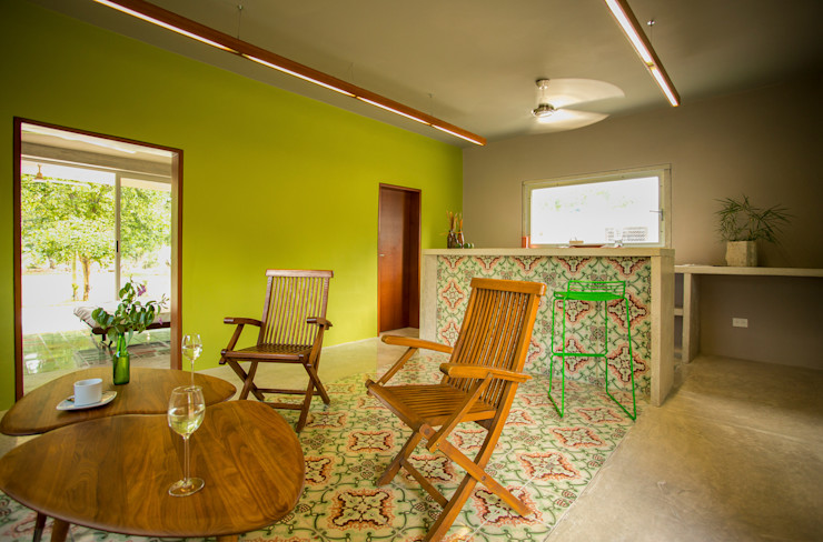 TACO Taller de Arquitectura Contextual Ruang Keluarga Modern