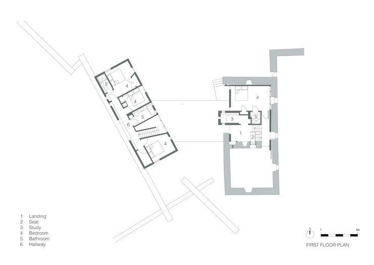 First Floor Plan WT Architecture