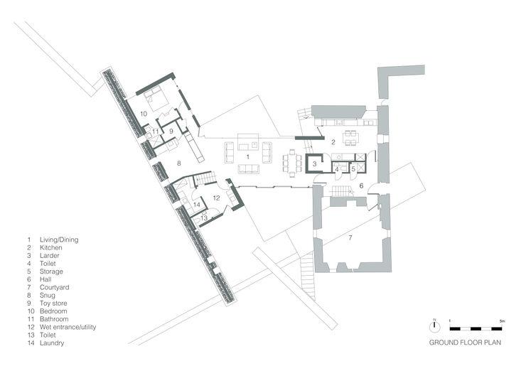 Ground Floor Plan WT Architecture