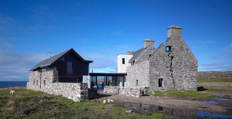 Exterior View WT Architecture Case moderne