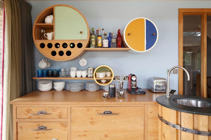 Edenbridge Johnny Grey Eclectic style kitchen