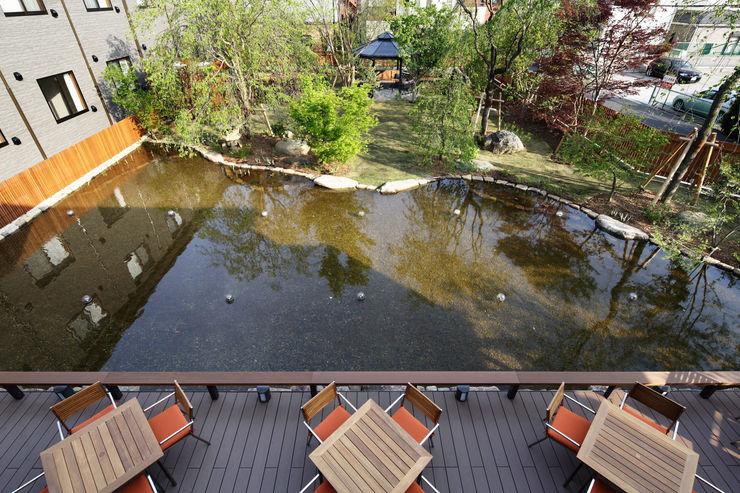 全景 秦造園 オリジナルな 庭