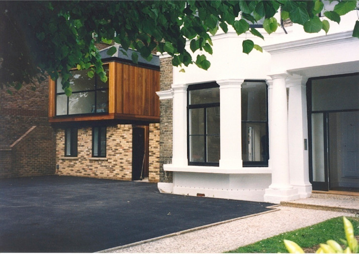 Side view Giles Jollands Architect Modern houses