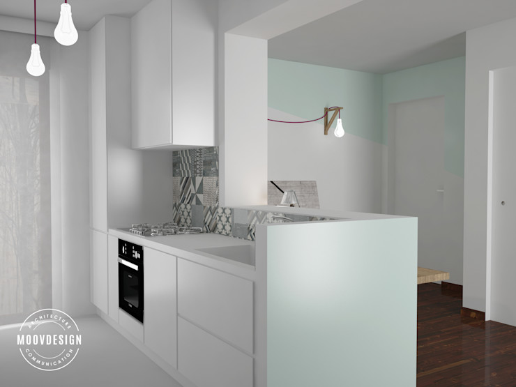 moovdesign Cozinhas minimalistas