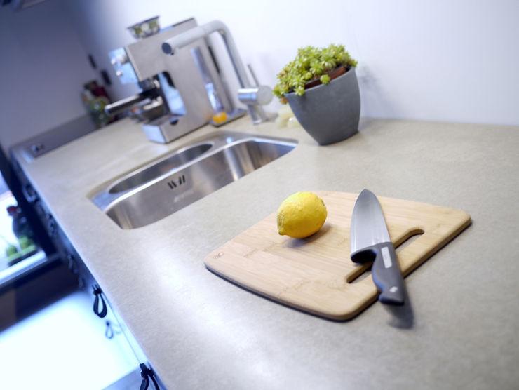 van risk Cocinas minimalistas