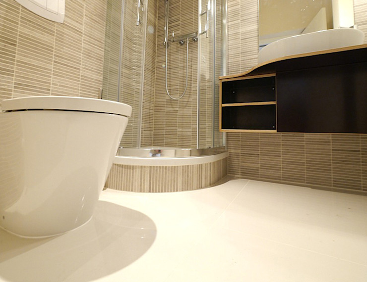 Apartment S van risk Moderne Badezimmer