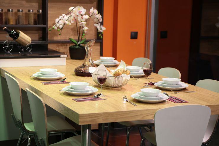 Ada Ahşap Modern Kitchen