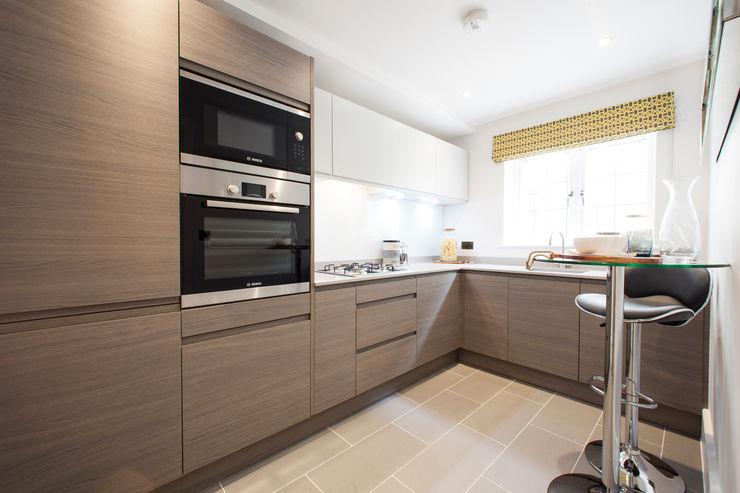 Kitchen Jigsaw Interior Architecture Modern kitchen Grey
