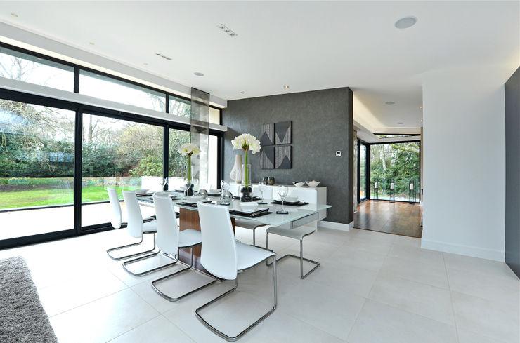 Redwoods, Wimborne, Dorset Jigsaw Interior Architecture Modern dining room