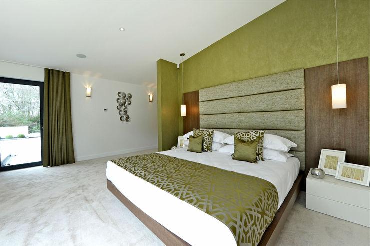 Redwoods, Wimborne, Dorset Jigsaw Interior Architecture Modern style bedroom
