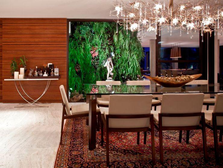 Residência Nova Lima - MG CP Paisagismo Jardins de inverno modernos