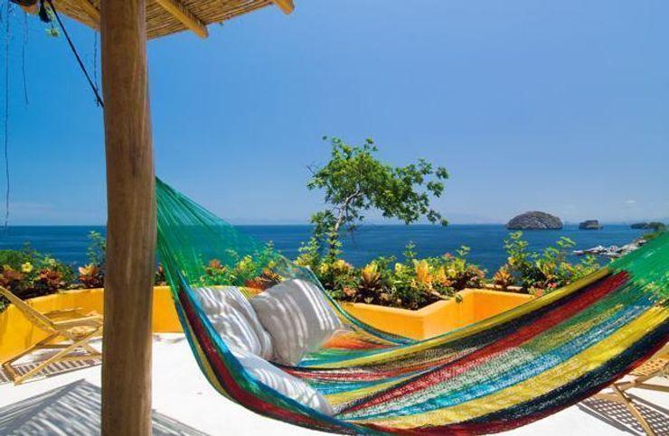 CASA MÉXICO Balconies, verandas & terraces Furniture