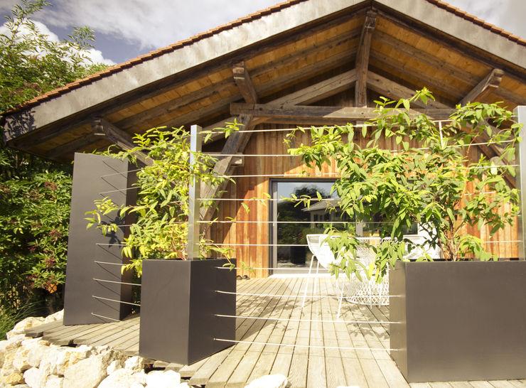 Bacs Image'In / Treillis pour plantes grimpantes ATELIER SO GREEN Maisons originales
