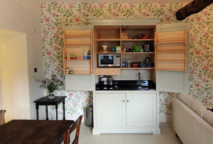 Kitchen in a box! Hallwood Furniture Cozinhas minimalistas