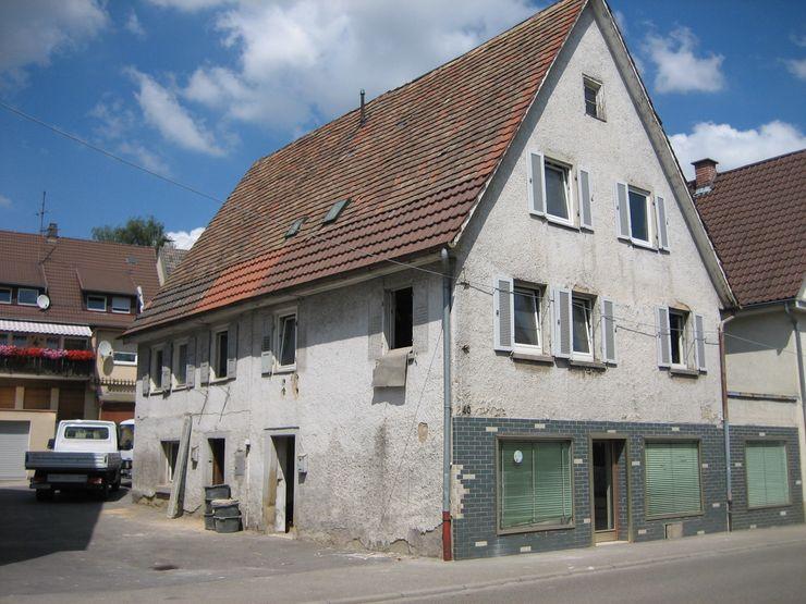 Ansicht Straßenseite vorher Kurt R. Hengstler GmbH