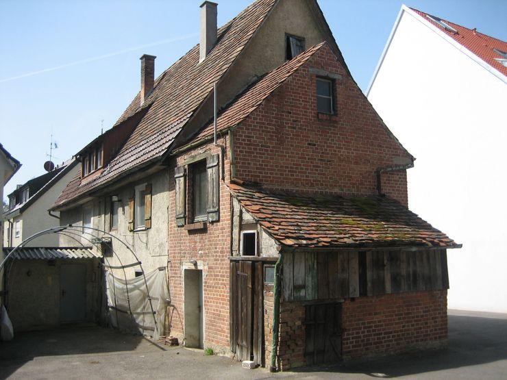 Ansicht Hofseite 1 vorher Kurt R. Hengstler GmbH