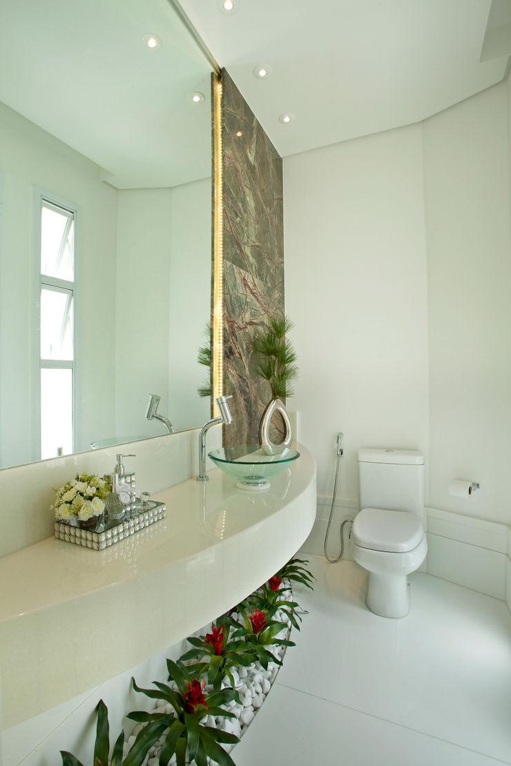 Designer de Interiores e Paisagista Iara Kílaris Nowoczesna łazienka