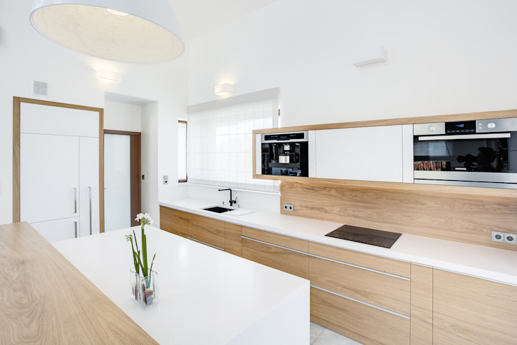 DK architektura wnętrz Kitchen