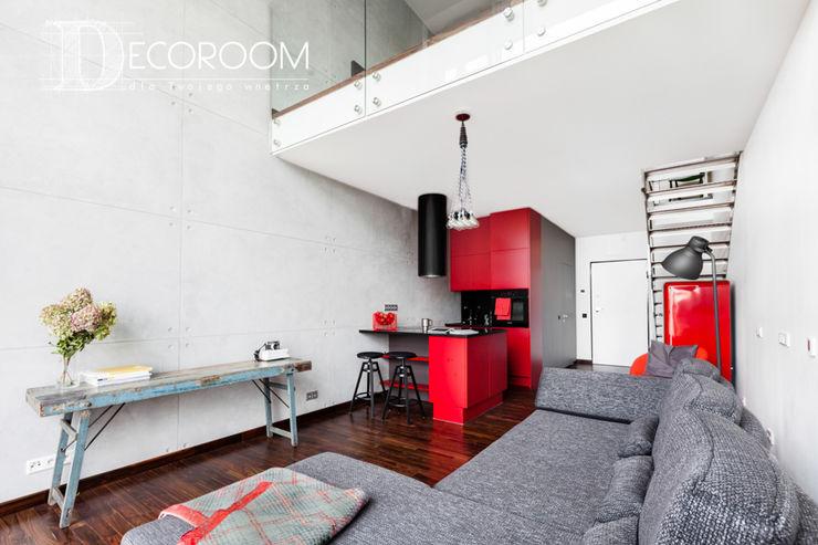 Pracownia Architektury Wnętrz Decoroom Living room