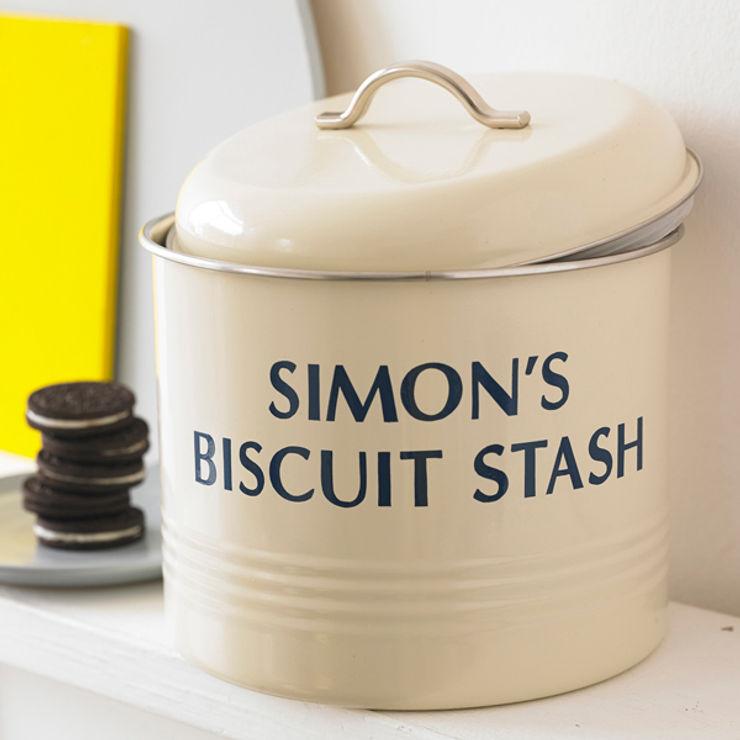 Personalised Biscuit Barrel Jonny's Sister مطبخمخزن