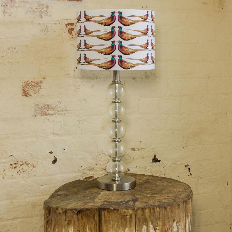 Pheasant Lampshade Lomas & Lomas ВітальняОсвітлення