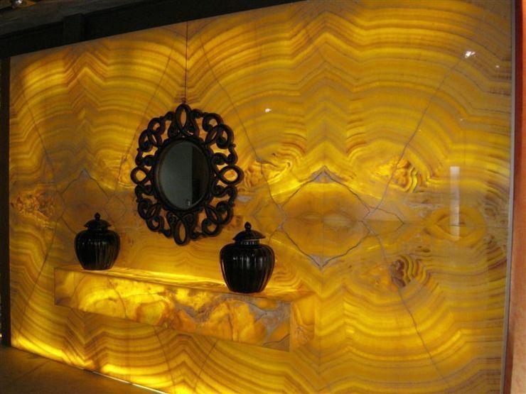 decoración con ónix. marmoles la pedrera Paredes y suelosDecoración de paredes
