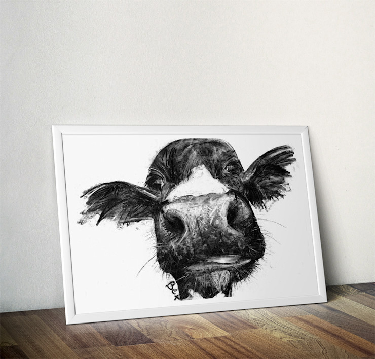 Cow by Bex Williams Wraptious ArtworkPictures & paintings