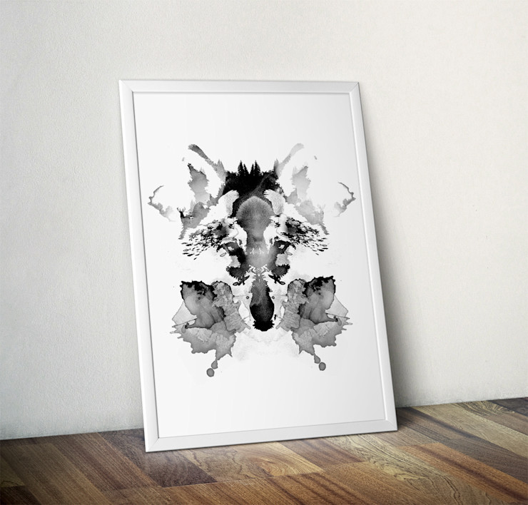 Rorschach by Robert Farkas Wraptious ArtworkPictures & paintings