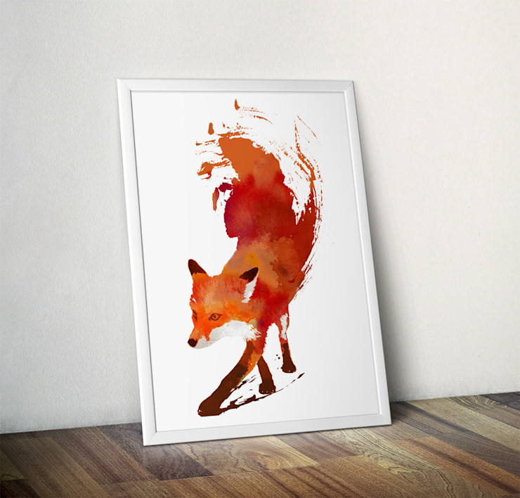 Vulpes Vulpes by Robert Farkas Wraptious ArtworkPictures & paintings