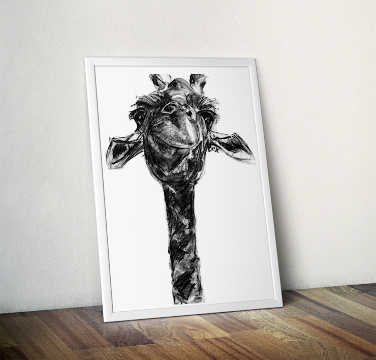 Giraffe by Bex Williams Wraptious ArtworkPictures & paintings