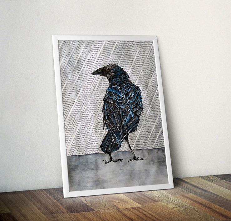 Raincrow by Alice Rope Wraptious ArtworkPictures & paintings
