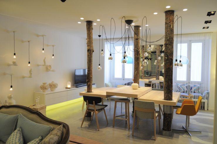 casa decor 2015 GMProyecto Comedores de estilo moderno