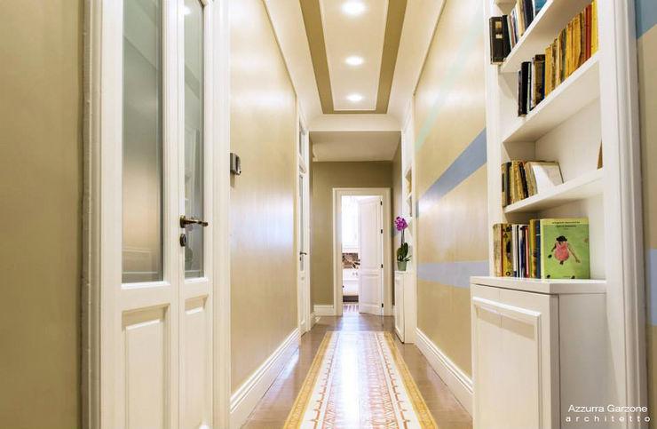 Casa privata BARI. QUARTIERE MURAT, Palazzo primi anni '20. Azzurra Garzone architetto Pareti & Pavimenti in stile classico