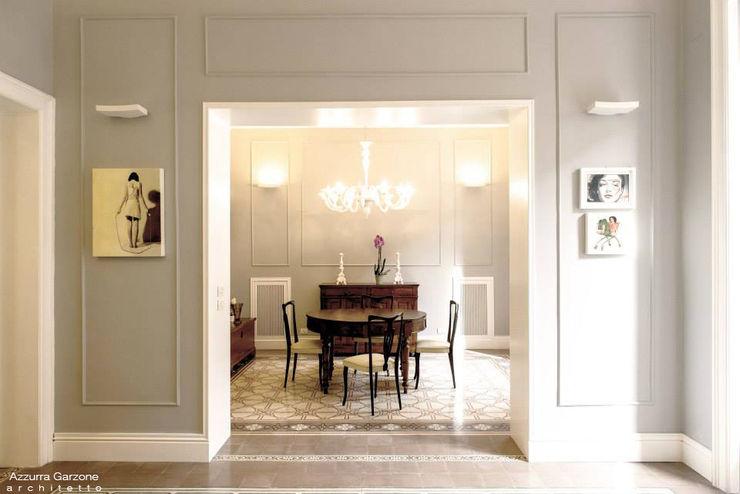 Casa privata BARI. QUARTIERE MURAT, Palazzo primi anni '20. Azzurra Garzone architetto Sala da pranzo in stile classico