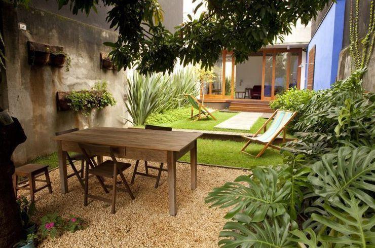 Ana Sawaia Arquitetura Jardines de estilo moderno