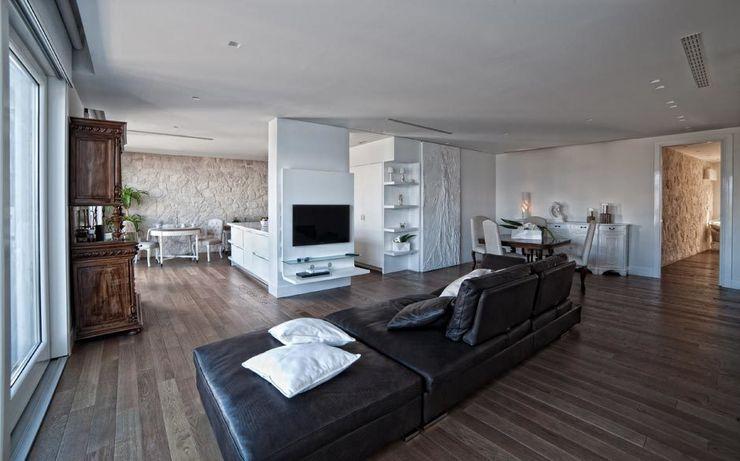White Light Francesca Ignani Interiors Soggiorno moderno